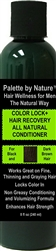 For Men Color + Hair Recovery All Natural Conditioner for Black and Dark Brown Hair