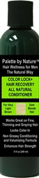 For Men Color + Hair Recovery All Natural Conditioner for Very Light Brown and Dark Blonde Hair