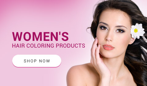 Womens hair coloring products